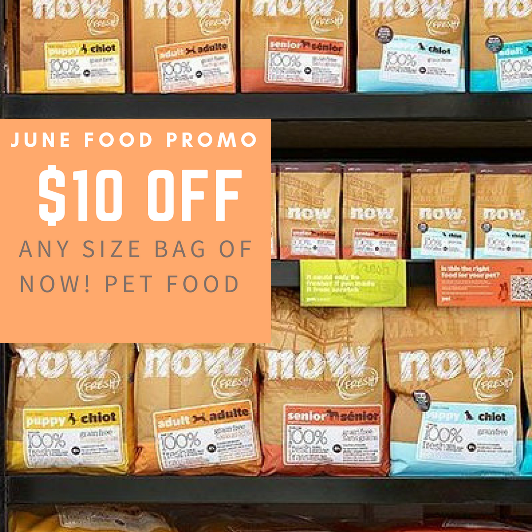 June Kansas City Dog food promotion